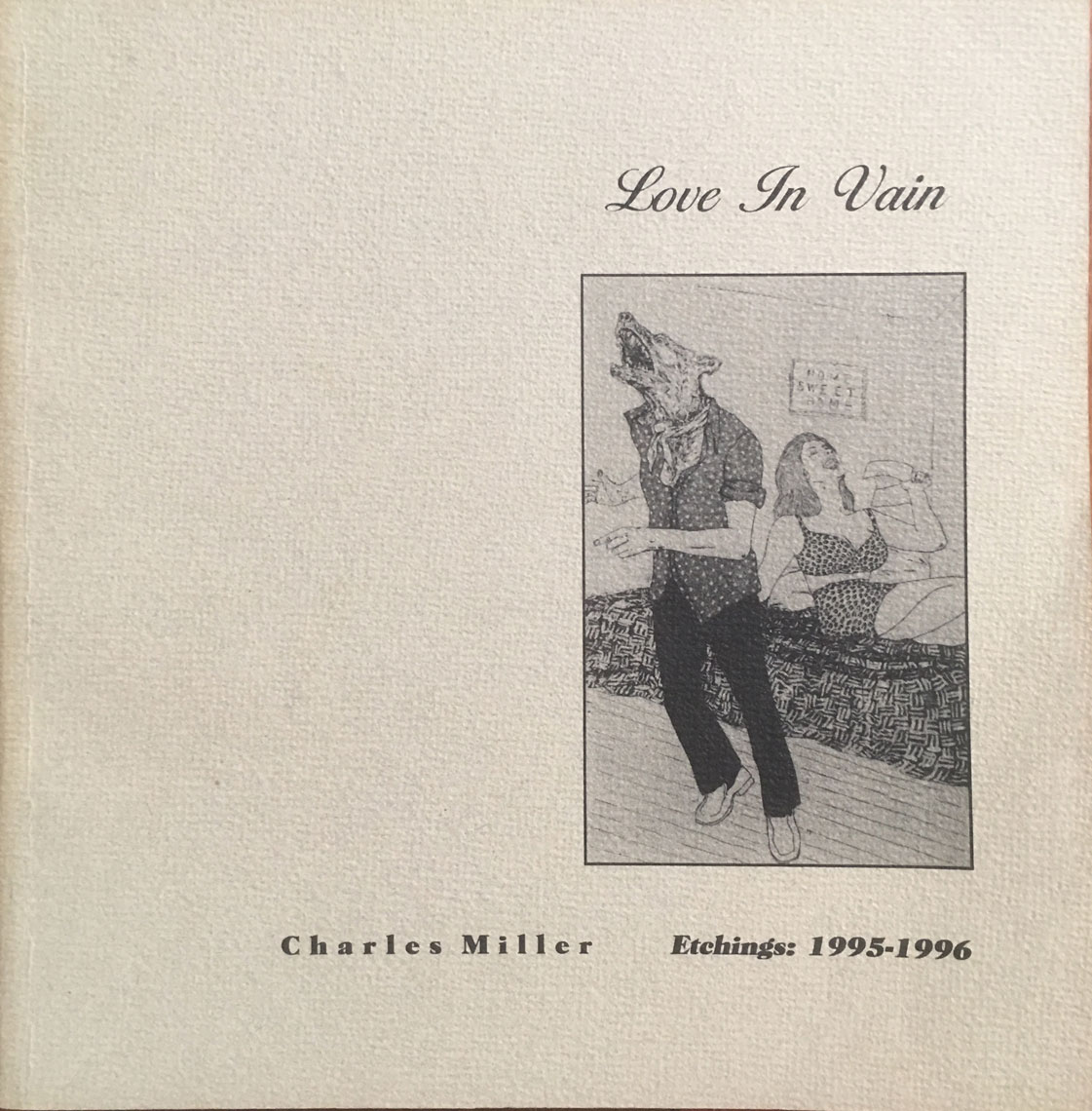 Love In Vain Catalog, c 2006